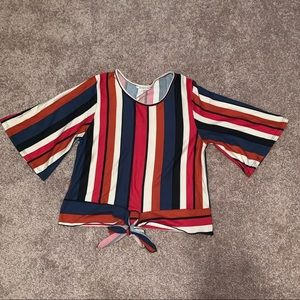 Tops - Striped blouse